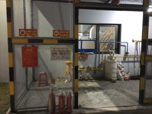 Hệ thống biển báo kho gas